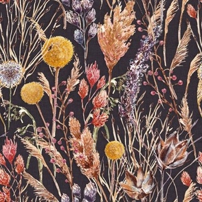 Springtime Wildflowers & grasses bouquet(large scale)