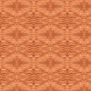 Walnut brown natural pigment hand-painted abstract