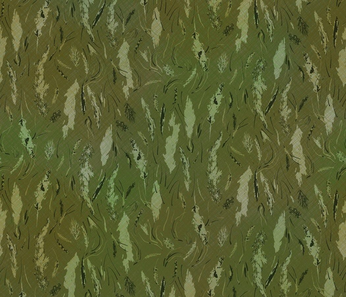 wild grasses green camo textured version by rysunki_malunki