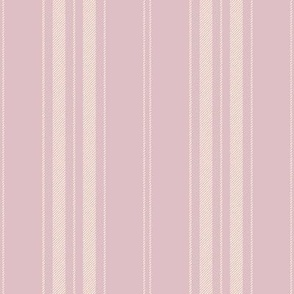 Dandy Stripe ~ Gypsophila on Idyll ~ Faux Woven