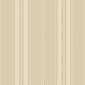 Dandy Stripe ~ Gypsophila on Parsonage ~ Faux Woven ~ Medium