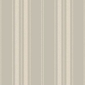 Dandy Stripe ~ Gypsophila on Trestle ~ Faux Woven