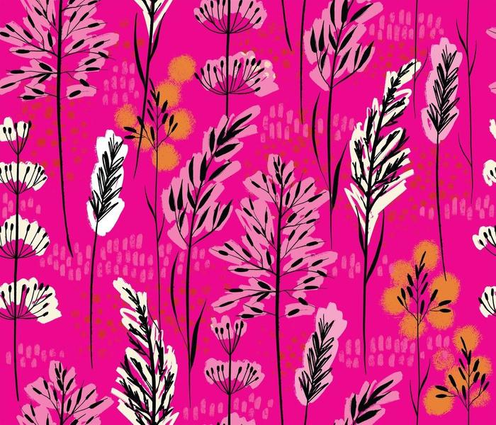 Pink Skies + Wild Grass