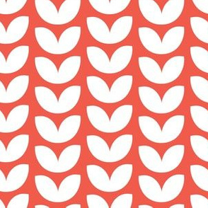 Knit Vine Scarlet
