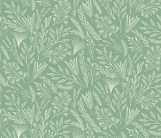 Wild grasses on jade