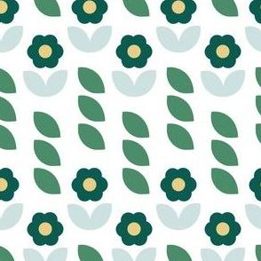 Leaf Lines Green