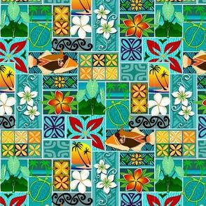 Hawaiian block pattern 001 small