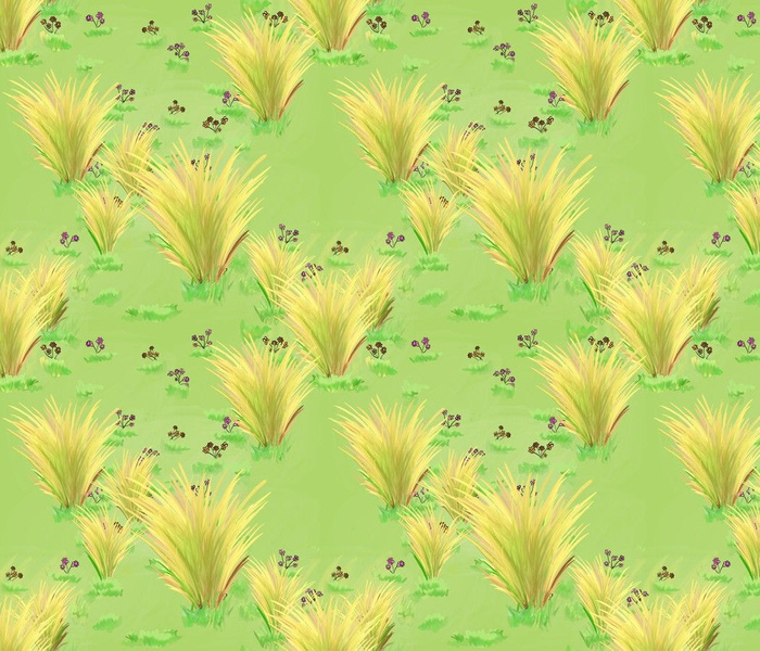 Freedom, another word - wild grasses (green bg)