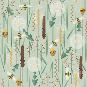 wild grasses - large