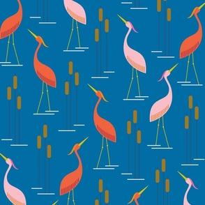 Cattails and Cranes (Or Corndogs and Cranes)