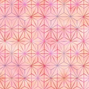 Geo Starburst pinks