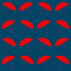 red umbrellas 1.5inch