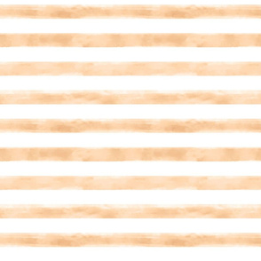 Watercolor Ivory Stripes Small