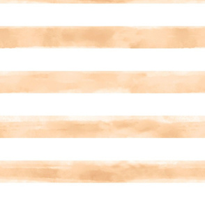 Watercolor Ivory Stripes