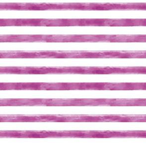 Watercolor Purple Stripes Small