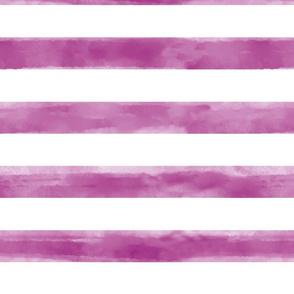 Watercolor Purple Stripes