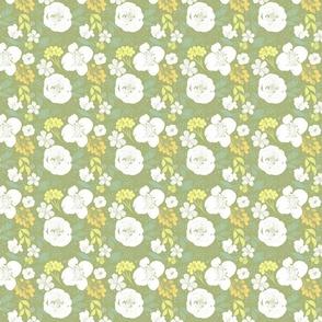 Spring Floral- Green