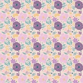 Spring Floral- purple