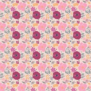 Spring Floral- pink