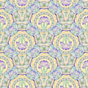 Iris Nouveau 2 way by Patricia Shea