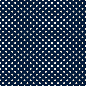 Big Dots Dark Blue