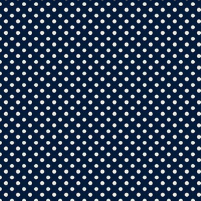 Small Dots Dark Blue