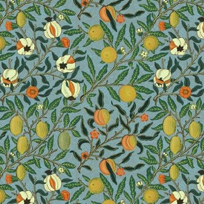 Fruit ~ William Morris ~ Special Edition ~ Antique Bright ~ Small