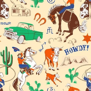 Howdy! Tan