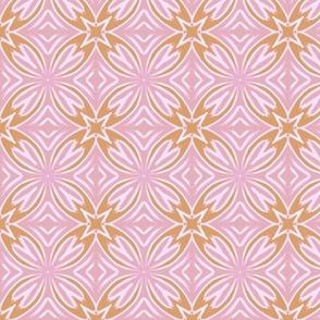 Pink and Orange Mosaic