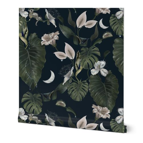 Moody Tropical Flora KreativKDesigns