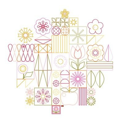 Garden Variety Embroidery Pattern
