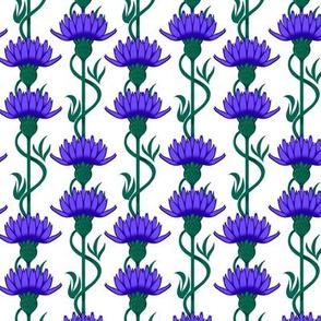 Cornflower Stripes