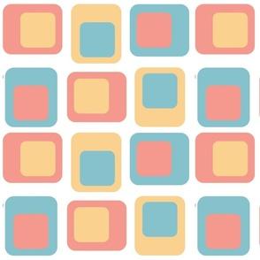 Sixties Squares - Grid