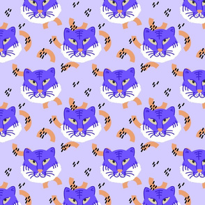 Blue Tiger (lilac)
