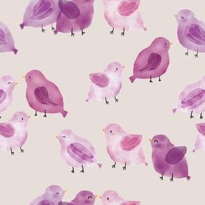 Chatty Birds Small