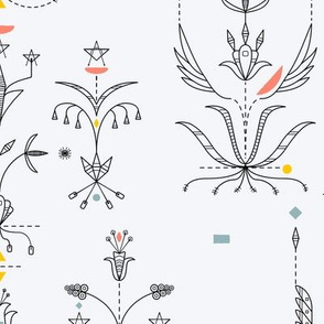 Midcentury Modern 1B (Dakota Floral)
