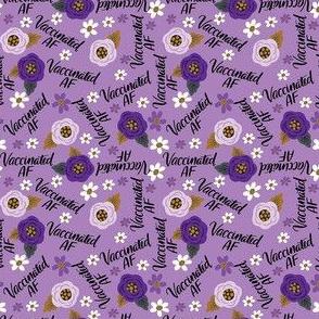Teeny-Vaccinated AF- Purple