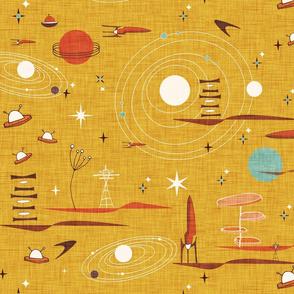 Intergalactic Adventures Yellow