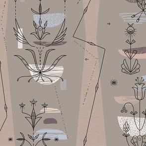 Midcentury Modern 3B (Dakota Floral)