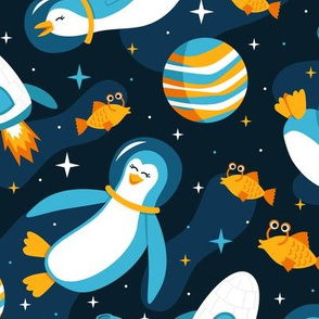 Intergalactic Penguins