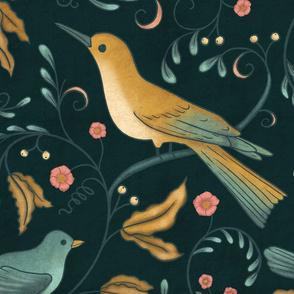 BellaNora little birds dark, large