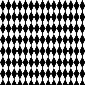 custom harlequin black and white