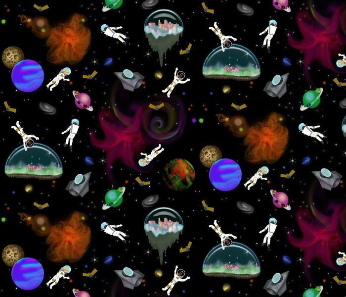 Intergalactic Space Walk