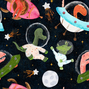 Dinos in space