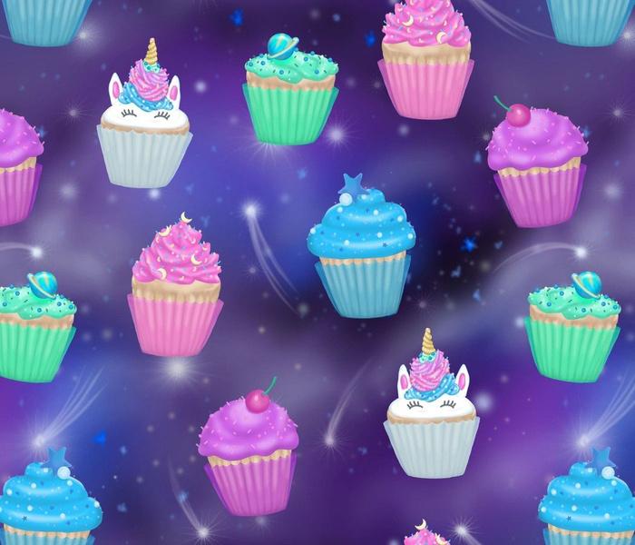 Galaxy Unicorn Cupcakes