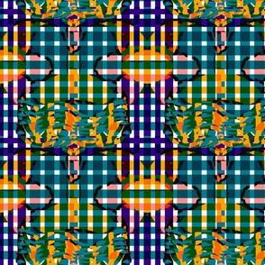 Gloria  Multi Multi Coloured Check