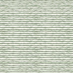 Uneven light green stripes