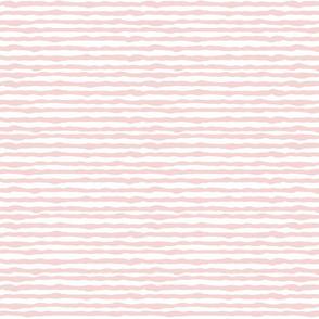 Uneven light pink stripes