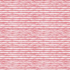 Uneven dark pink stripes