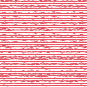 Uneven red stripes